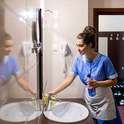Domestic-Tasks---Cleaning-Bathroom